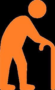 ill person icon